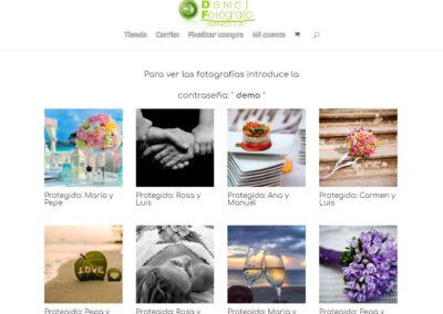 eCommerce de fotografías